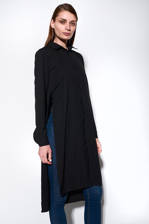 SIXTH JUNE - SHIRT DRESS BLACK - Ozon Boutique