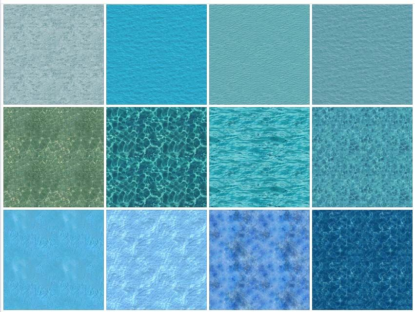 Sketchup texture texture water sea water oohrah for Pool design sketchup