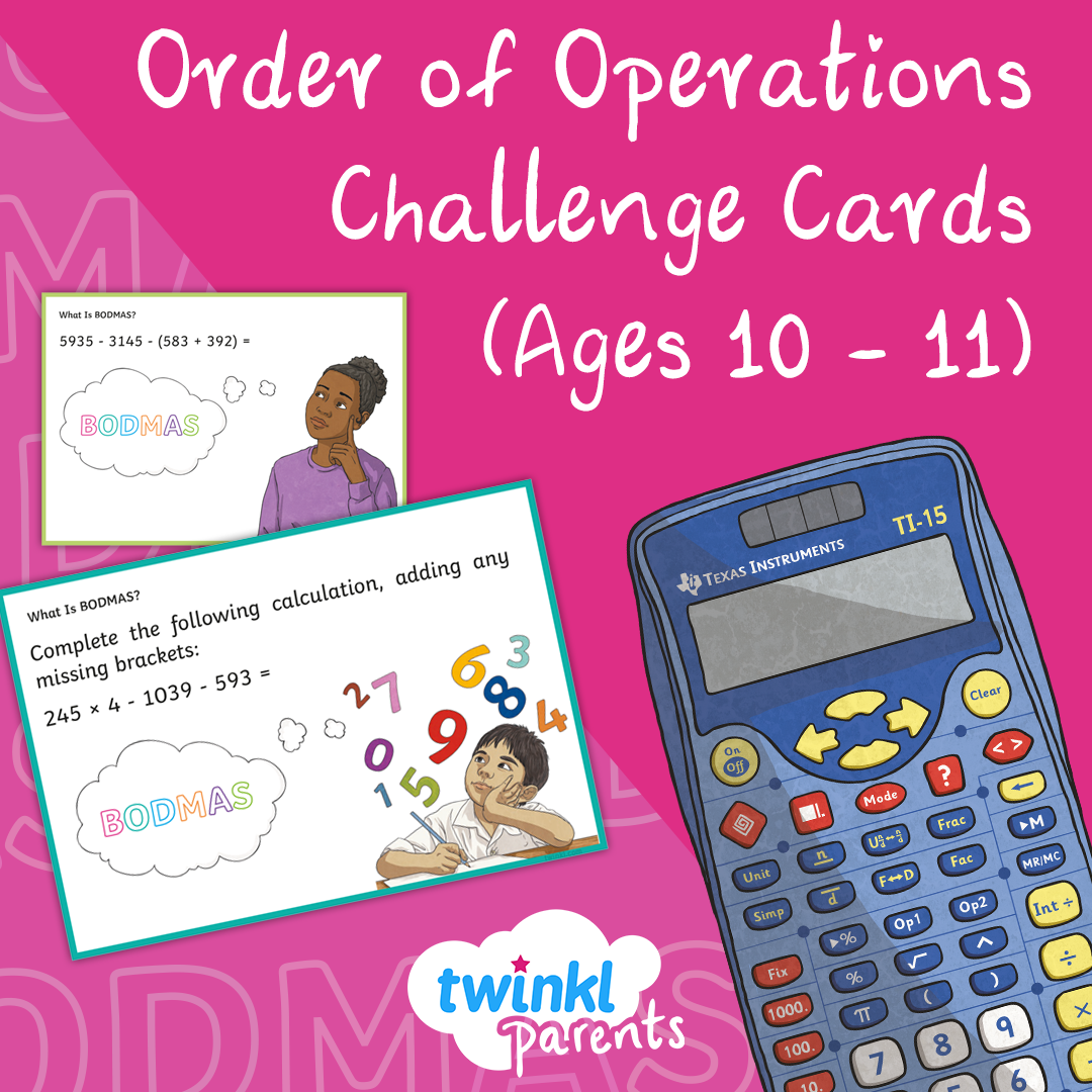 Math Challenge Cards For 10 11 Year Olds In