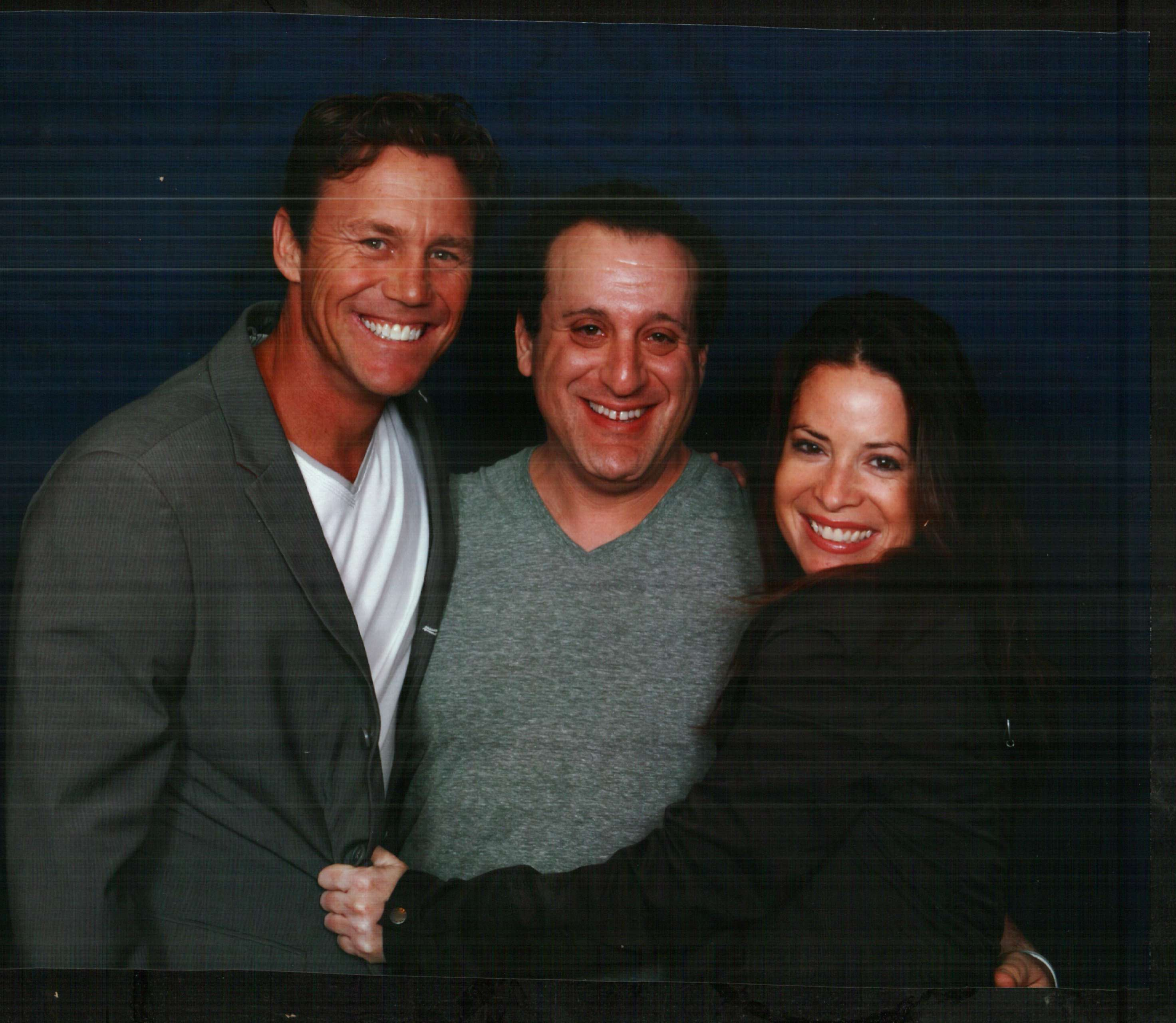 Holly Marie Combs, Brian Krause, & me :) | Holly Marie Combs
