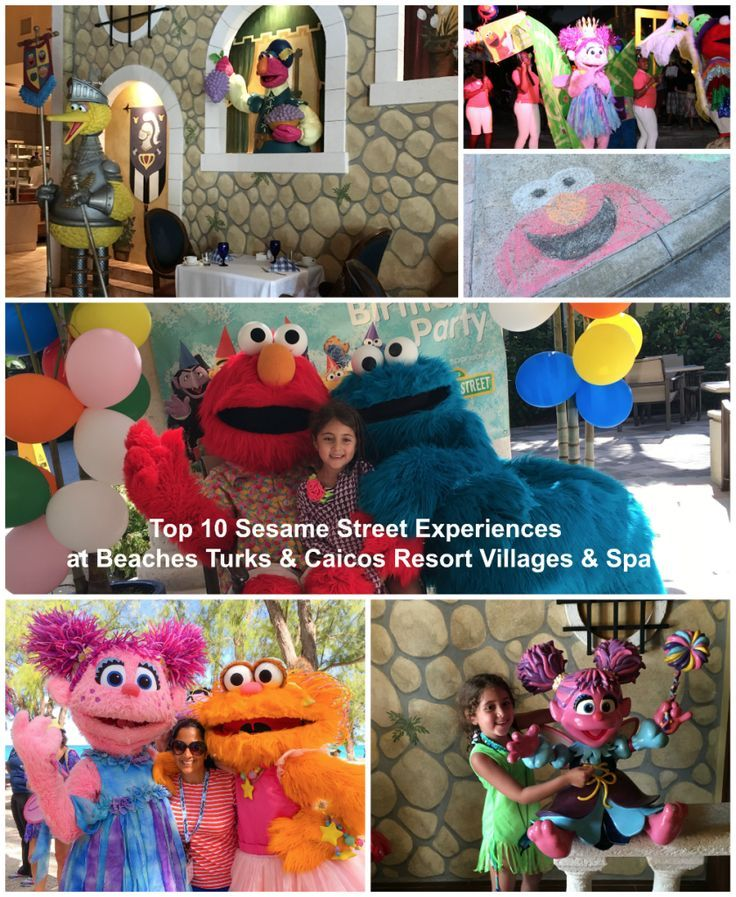 Beaches Turks & Caicos With Kids: Top 10 Sesame Street