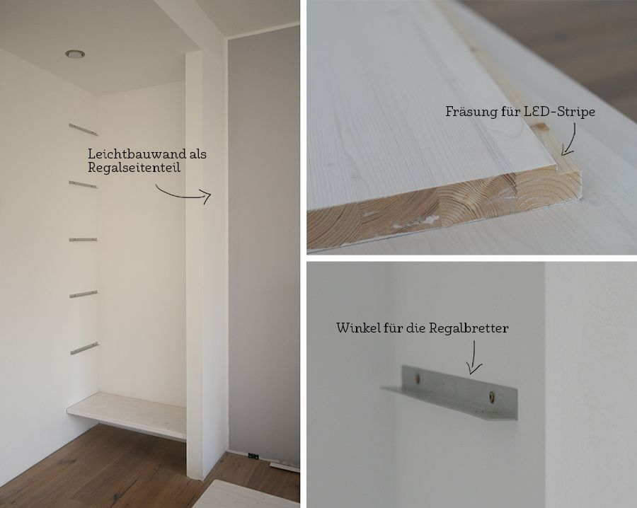 Beleuchtetes Einbauregal Einbauregale Modernes Badezimmerdesign Diy Projekte Fur Zuhause