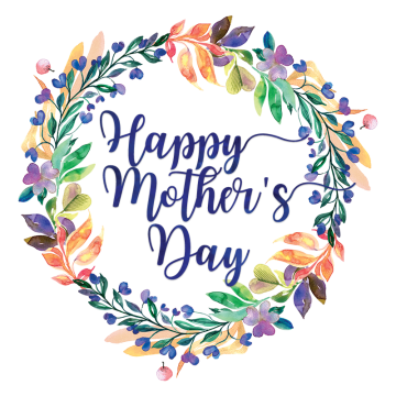 Flower Frame Watercolor Leaves Mothers Day Mother Day Watercolor Mother Happy Mot Happy Mother S Day Calligraphy Happy Mother S Day Card Diy Happy Mother S Day