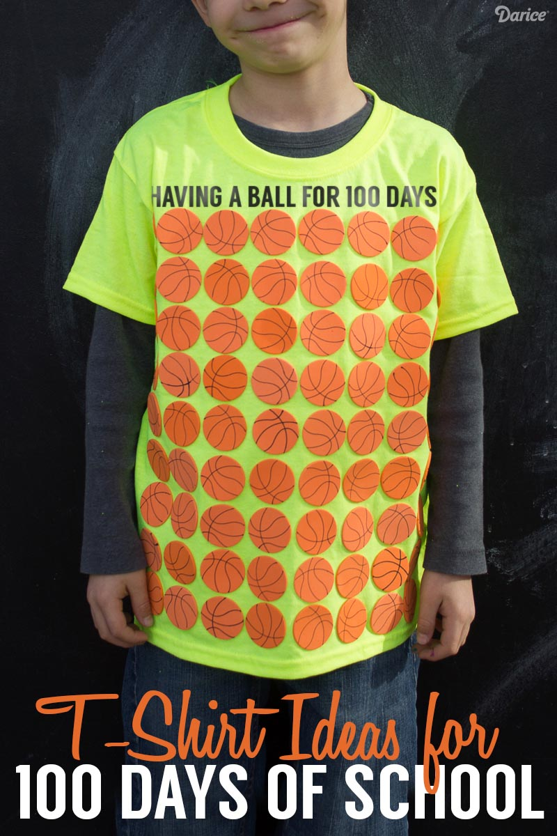 100 Days of School Shirt Ideas for Students - Darice