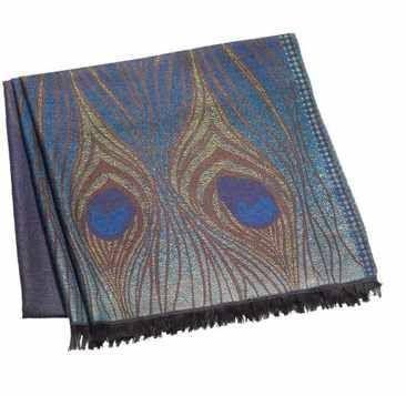 Silk Scarf Tiffany Peacock $94.99   www.allthingspeacock.com