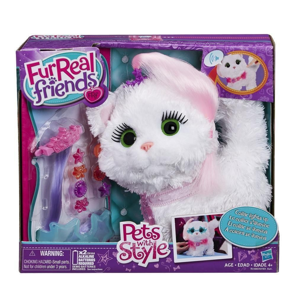 Furreal Friends Pets With Style Rock N Style Princess Kitty Pet