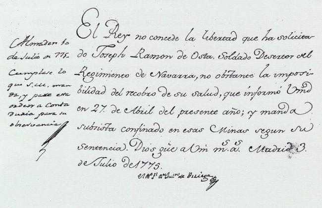 Petición de libertad de un preso