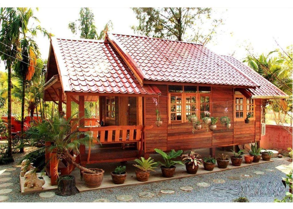 38 Inspiring Wooden Houses Design Ideas Eco Friendly Modern Wooden House Wooden House Design Bamboo House Design