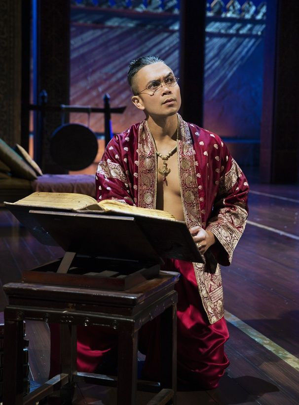 Photo 1 of 36 | Daniel Dae Kim as The King of Siam and Marin Mazzie as Anna in The King and I. | The King and I: Show photos | Broadway.com