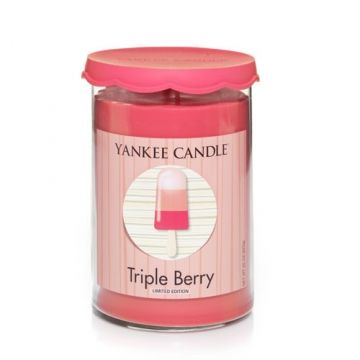 Triple Berry : Cool Pops Large Tumbler (2-wick) : Yankee Candle Yep, bring on summertime!