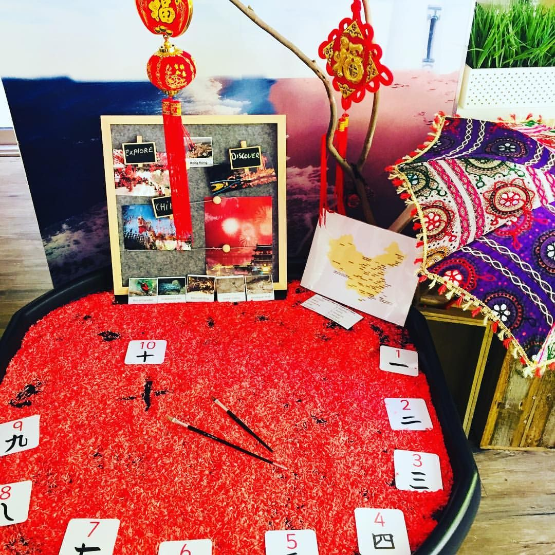 Chinese New Year theme reggioemilia preschooler