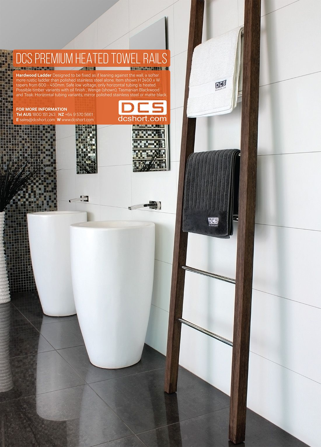 Urbis Aug2015 - DCS Heated Towel Rails.