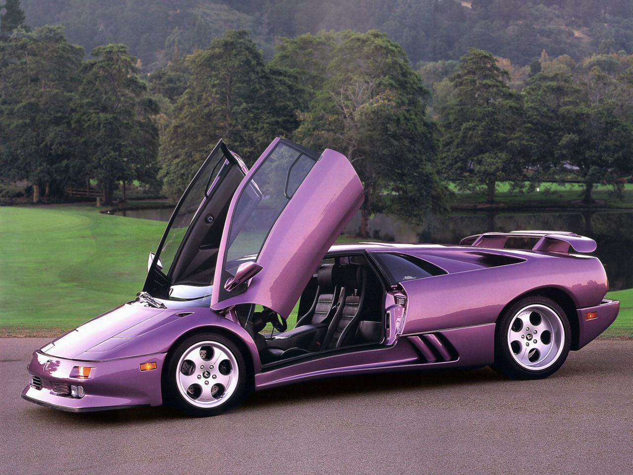 Lamborghini diablo colors