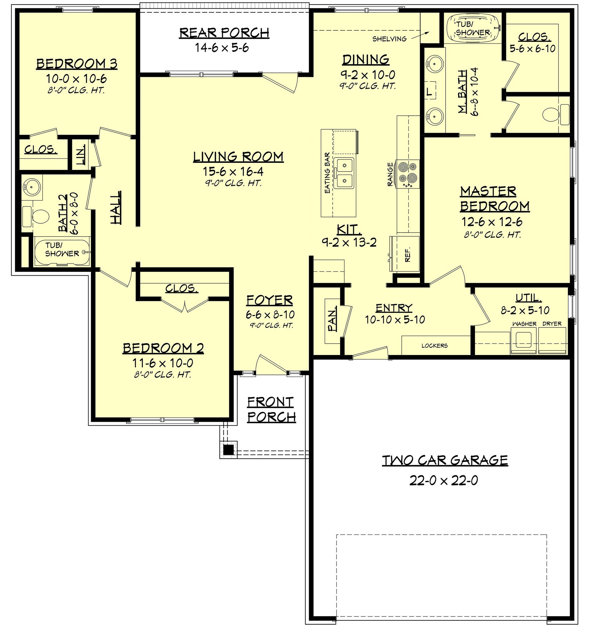 3 master bedroom house plans  Oaks IV House Plan  Bath Bedrooms and Foyers