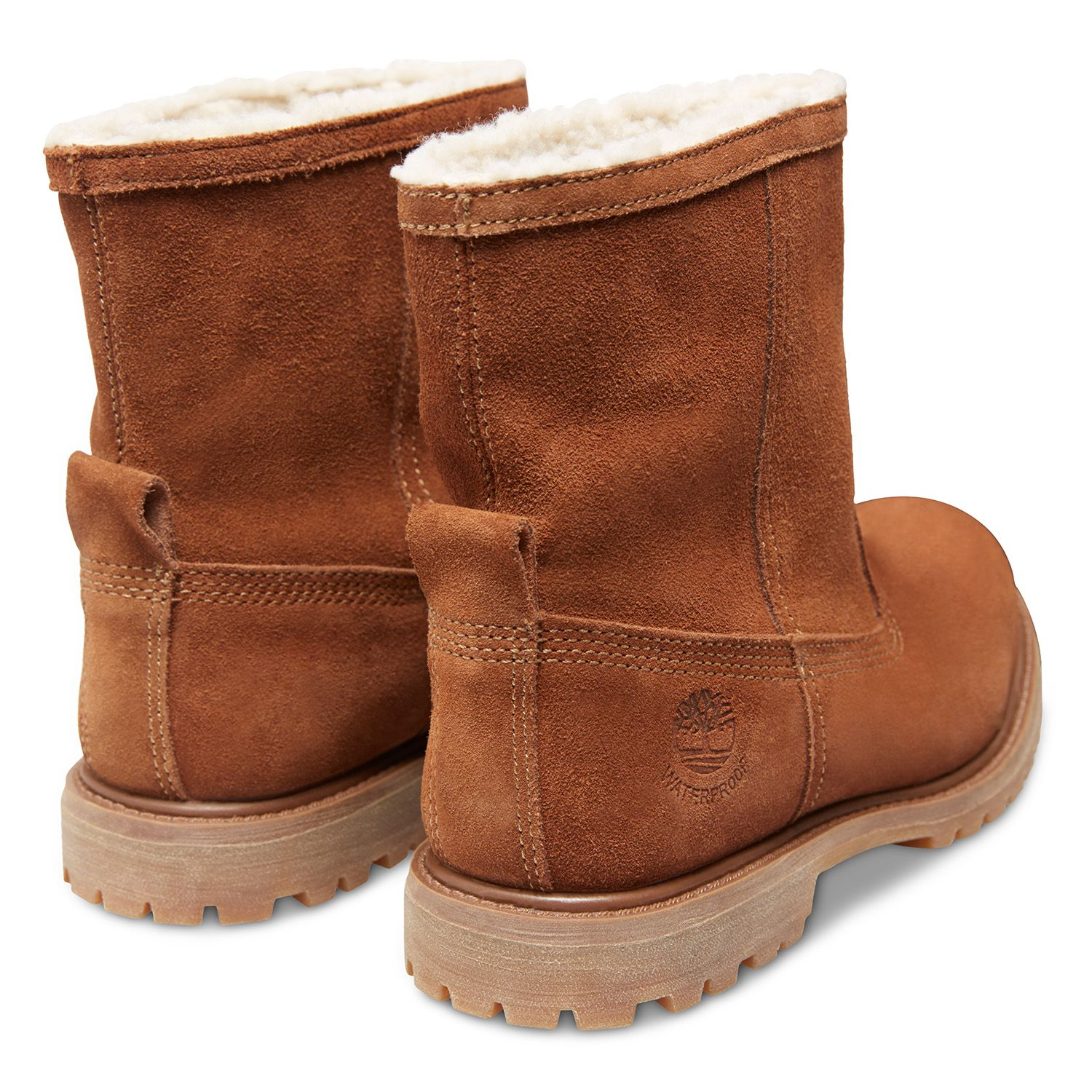 Women Warm Lined Boots Pull On