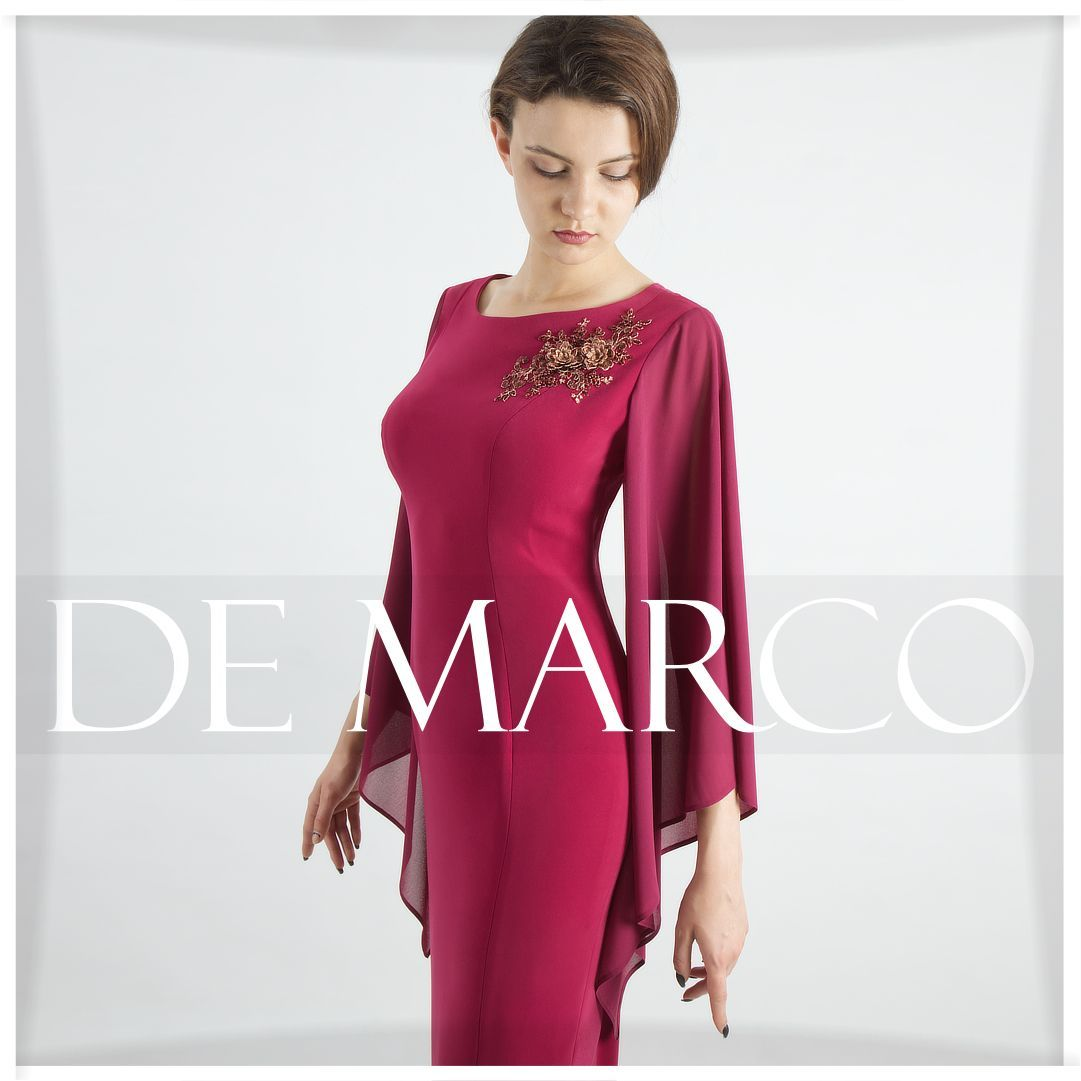 Wyjatkowe Sukienki Na Wesele Zima Szyte Na Miare W Salonie Mody De Marco 3 D Monako Berlin Warszawa Poznan Kopenha Dresses Long Sleeve Dress Tunic Tops