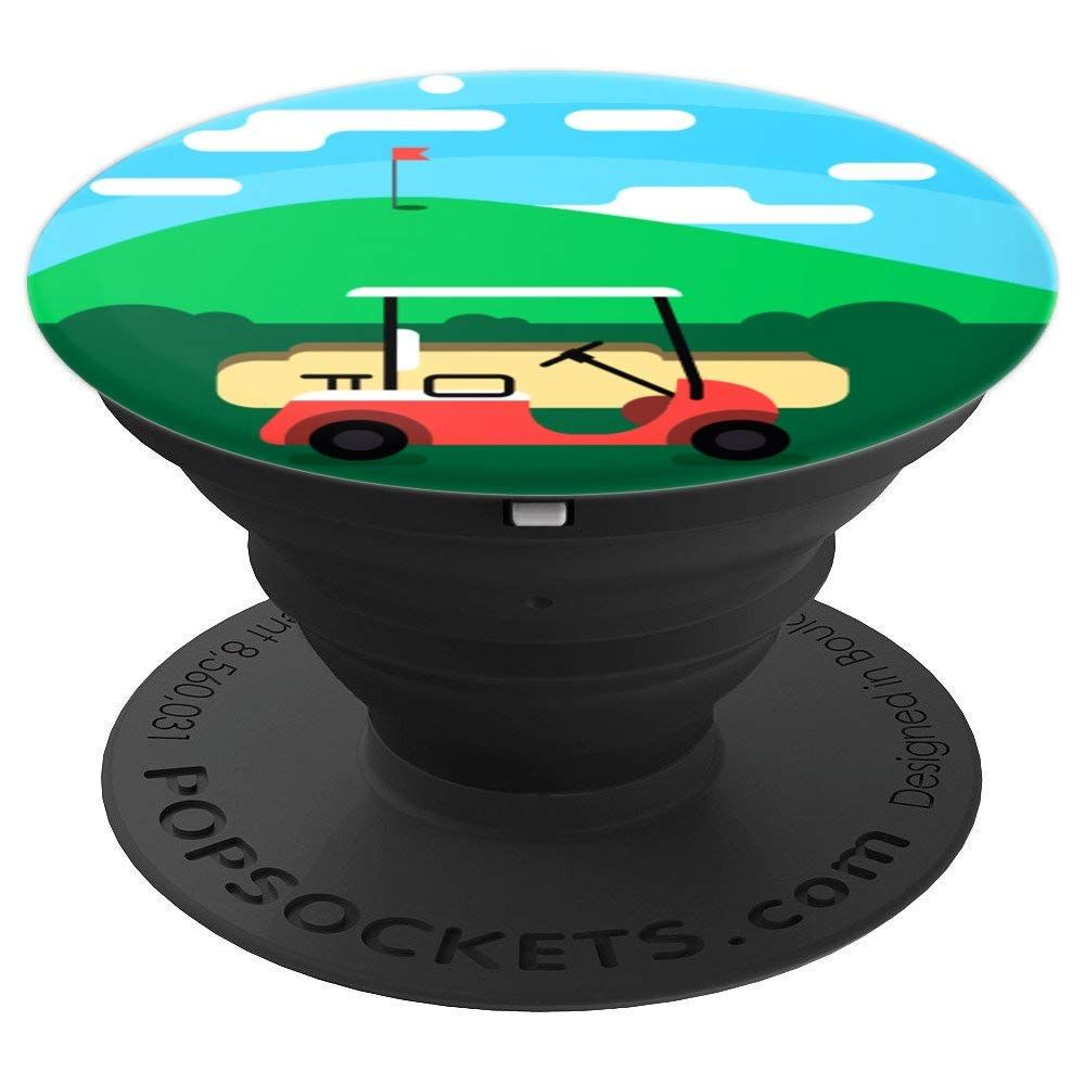 Golf Course Awesome Gift Pop Socket is a