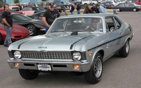 1970 Chevy Yenko Duece Nova Chevrolet Nova Chevy Nova Chevy