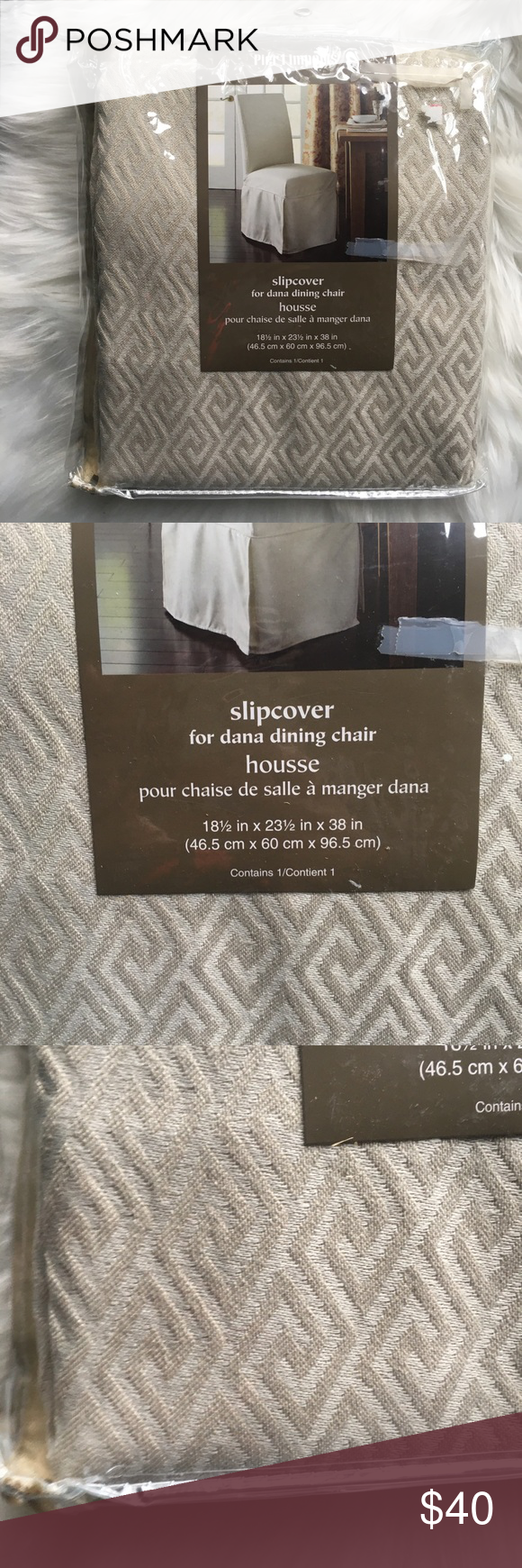 PIER 1 IMPORTS Slip Cover for Dana Dining Chair NWT ...