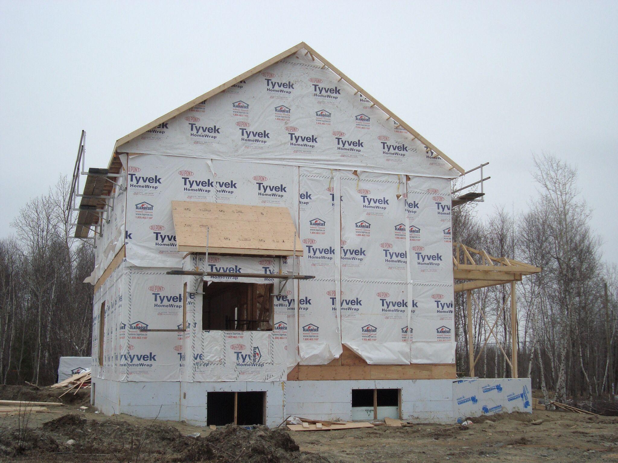 Coffrage isolé Construction Maison