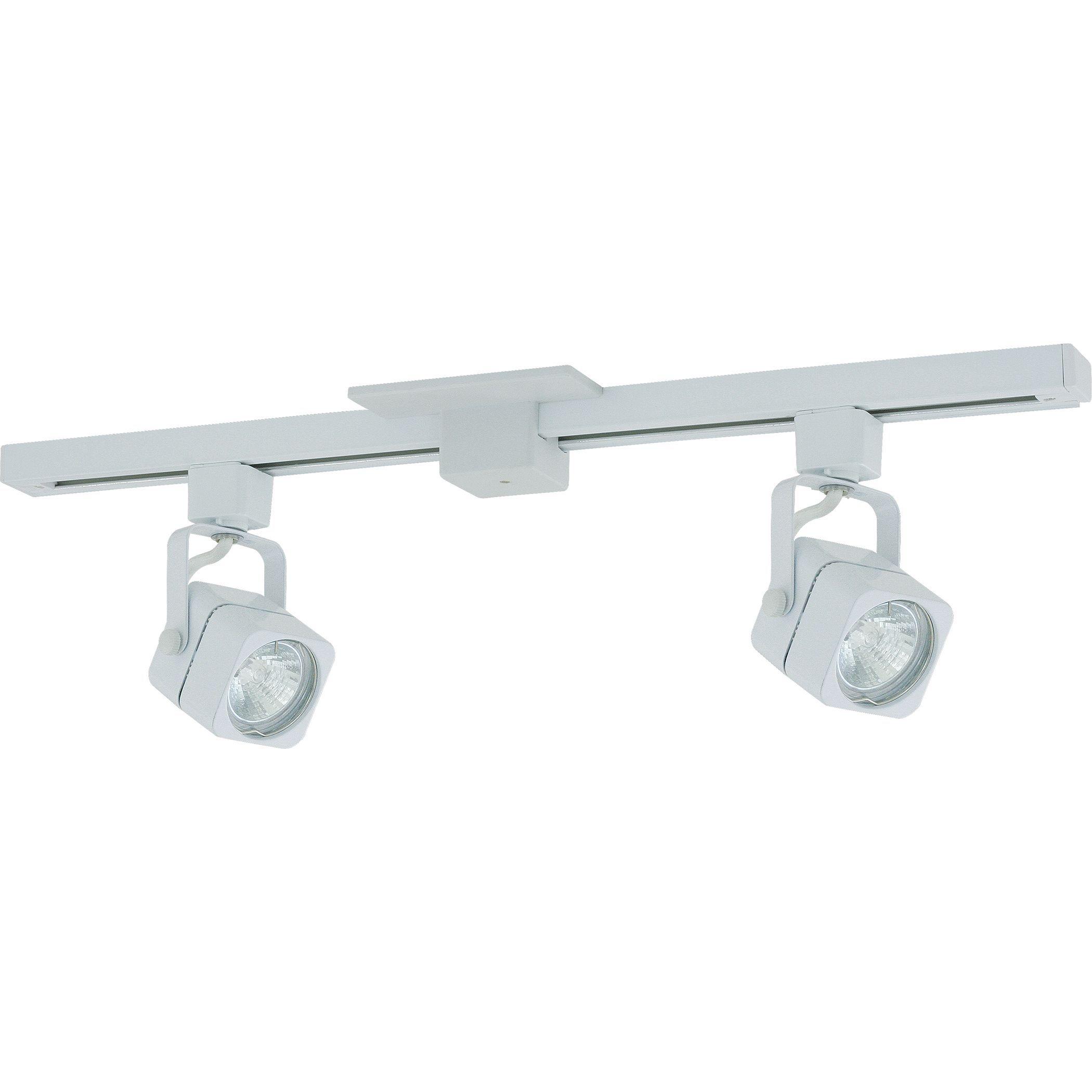 Liteline Corporation 71250 90800 2 White Apollo Track Lighting Fixture