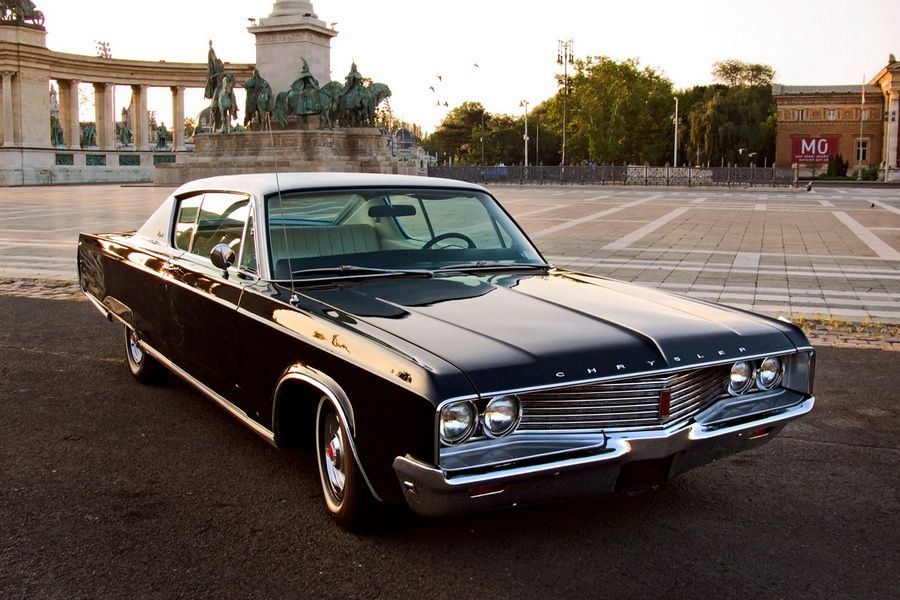 American Old Timer Cars | 1968 Chrysler Newport 383 cui | Dodge ...