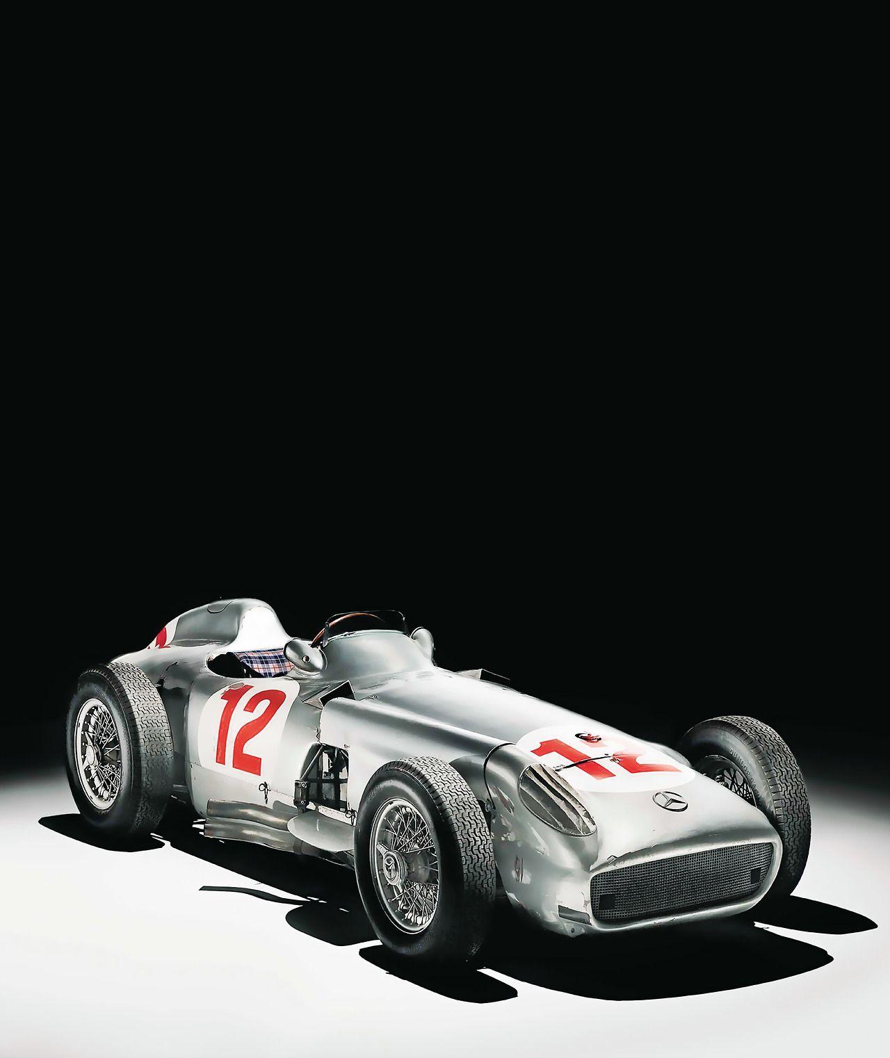 Mercedes Benz W196 race cars Pinterest