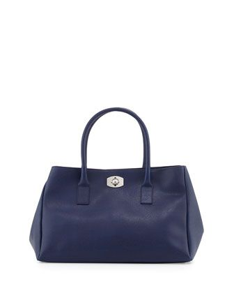 New Aloosa Saffiano East West Tote Bag Ink By Furla At Neiman Marcus Last Call