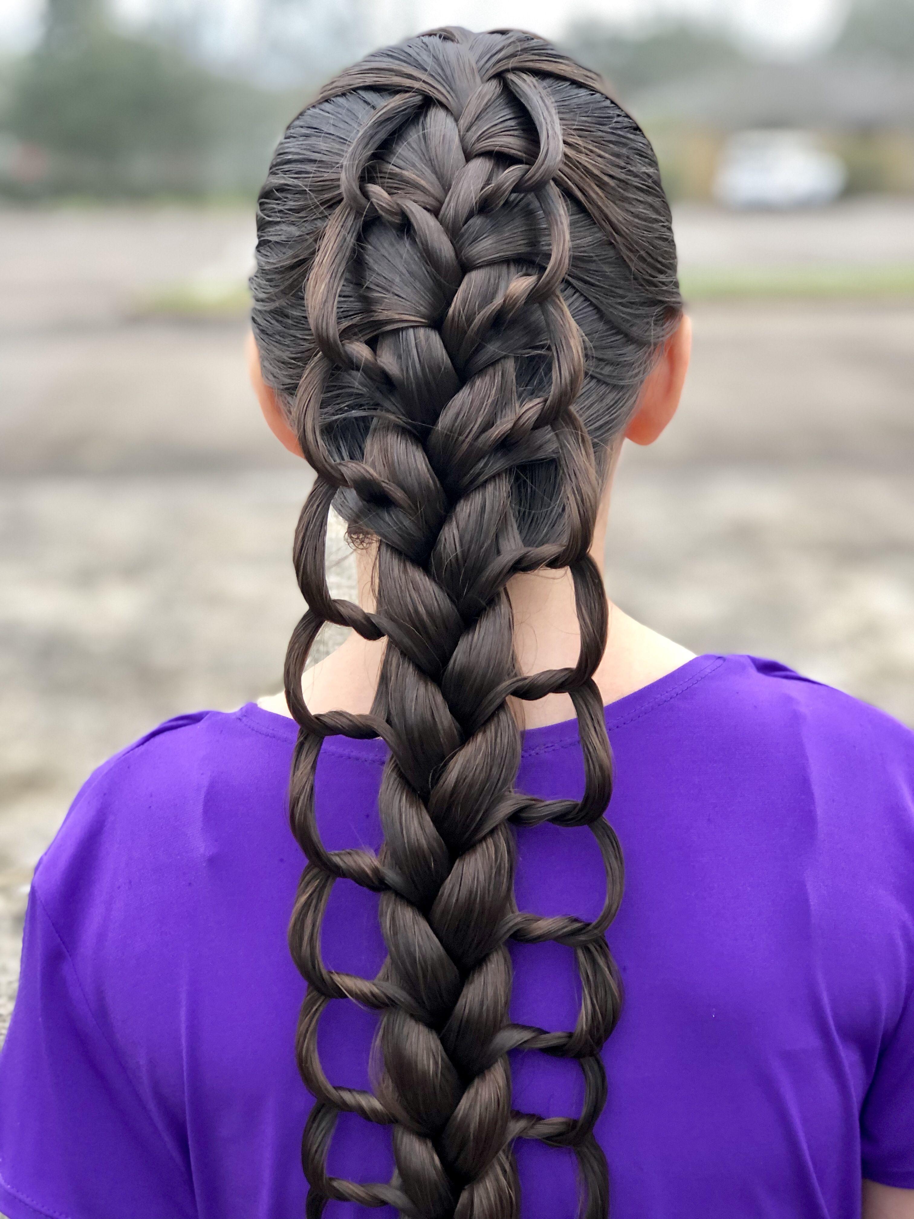 Dragon Scale Braid Hairstyle Beautiful Hair Hair Styles