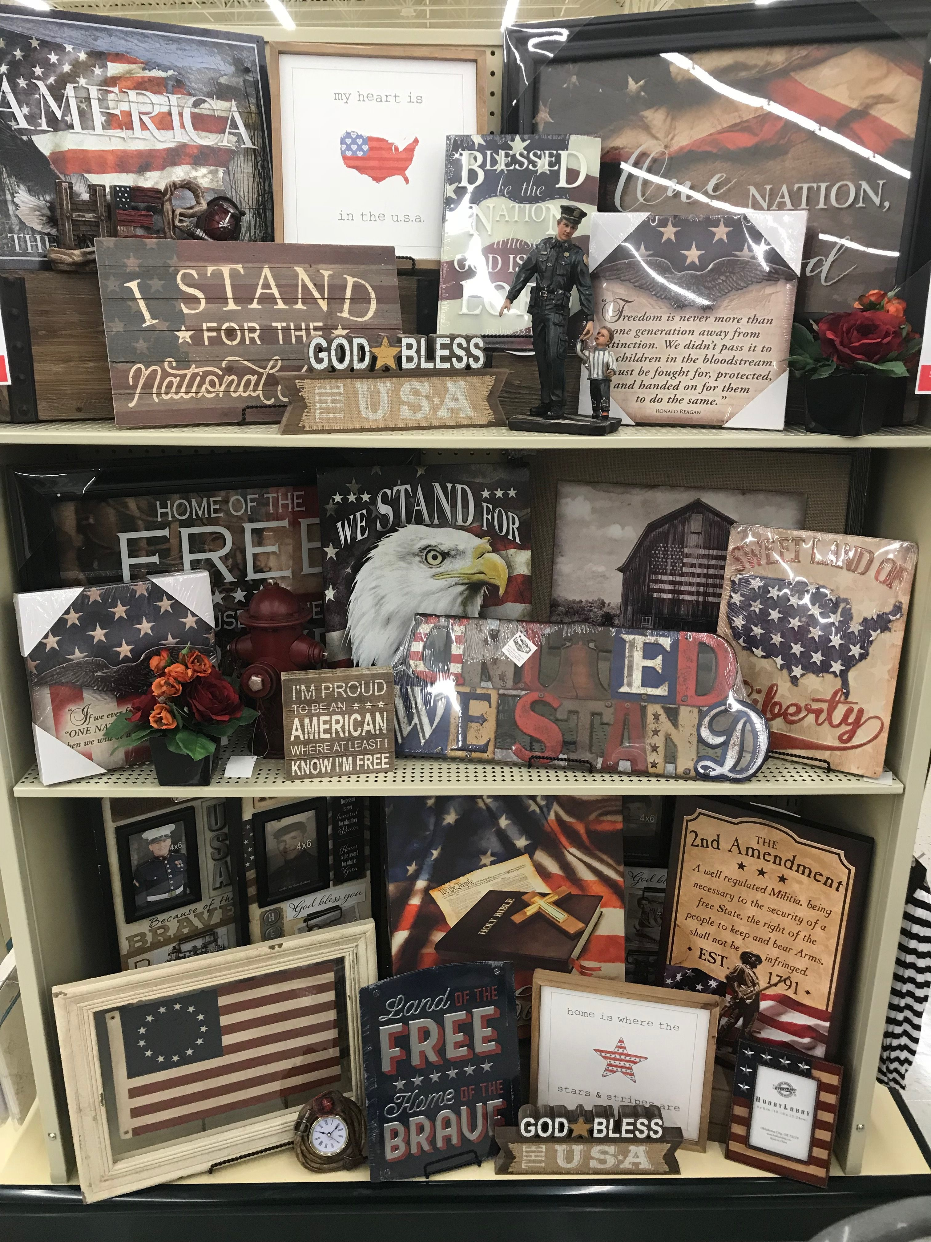 Pin by Natalie Duckworth Wright on Hobby Lobby | Fourth of ...