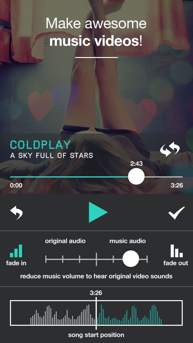 MusicVid Add Background Songs to Videos for Vine and