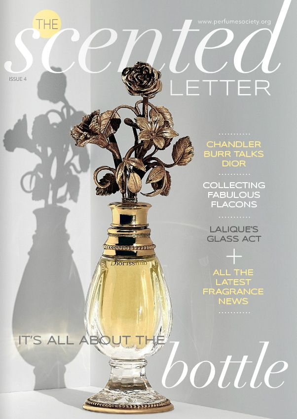 Our fourth issue of The Scented Letter was based around the bottle