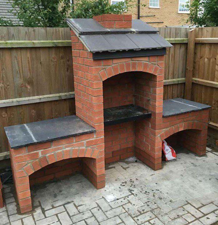 1001 id es barbecue pinterest backyard barbecue et brick bbq. Black Bedroom Furniture Sets. Home Design Ideas