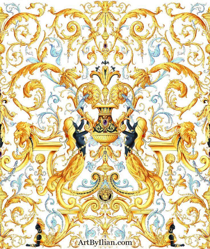 Versace Pattern   Sfondi carini, Sfondi, Immagini