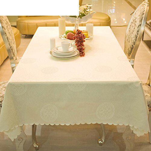 Oblong Table Cloth European Style Tablecloths Western Table Cloth Off White Table Cloth Hotel Tablec White Table Cloth Home Coffee Tables Coffee Table Square