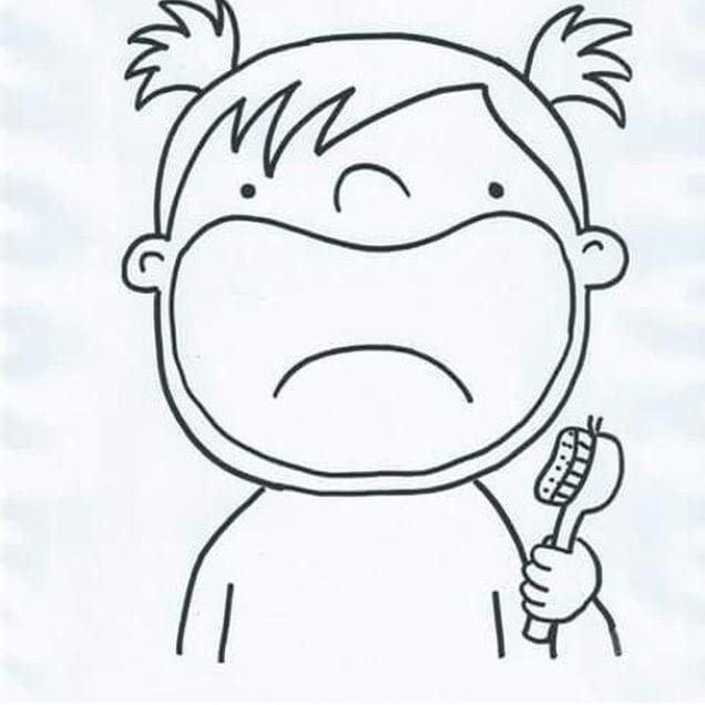 Paylaşımını yaptığım,ağız ve diş sağlığı haftasında
