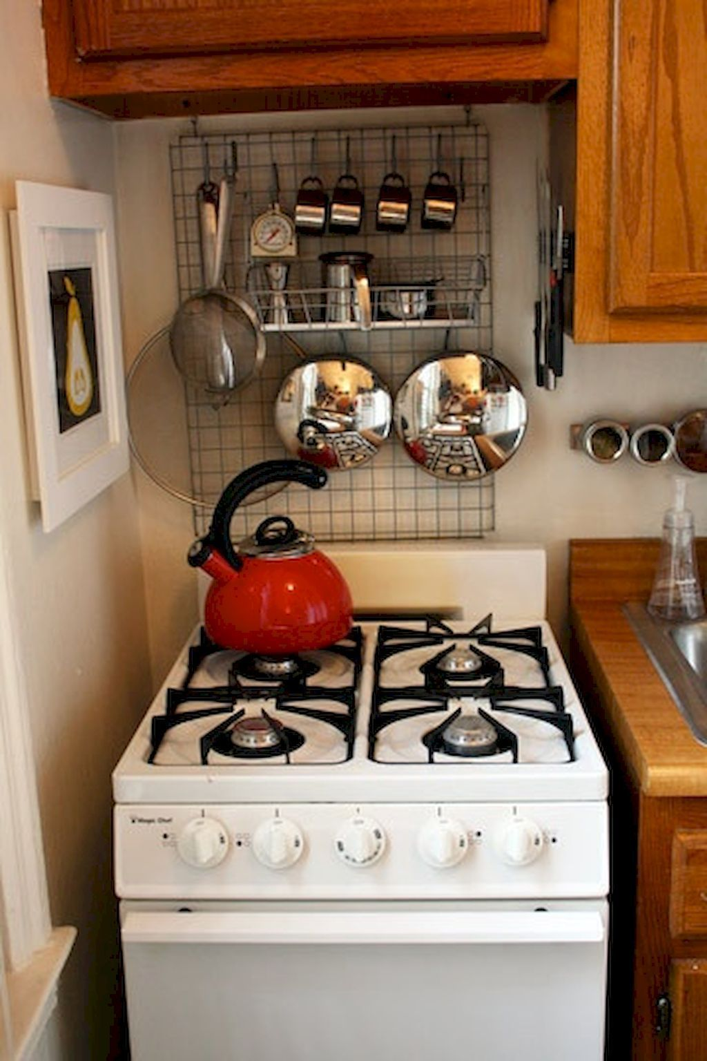 50 Cool Apartment Kitchen Rental Decor Ideas and Makeover ...