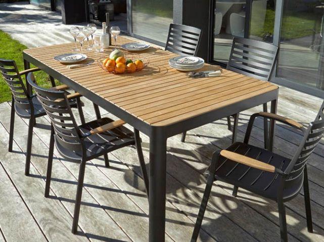 La Collection Jardin 2016 Castorama Table Et Chaises De Jardin Table Et Chaises Et Castorama