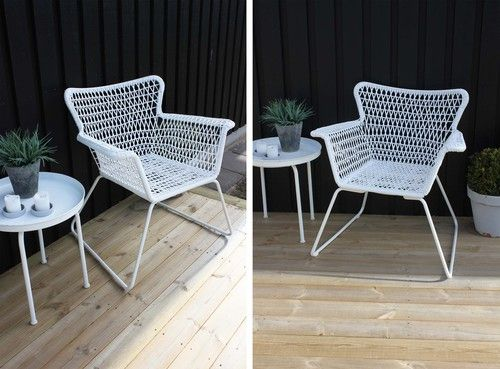 ikea h gsten chairs outdoors interior pinterest balkon und einrichtungsideen. Black Bedroom Furniture Sets. Home Design Ideas