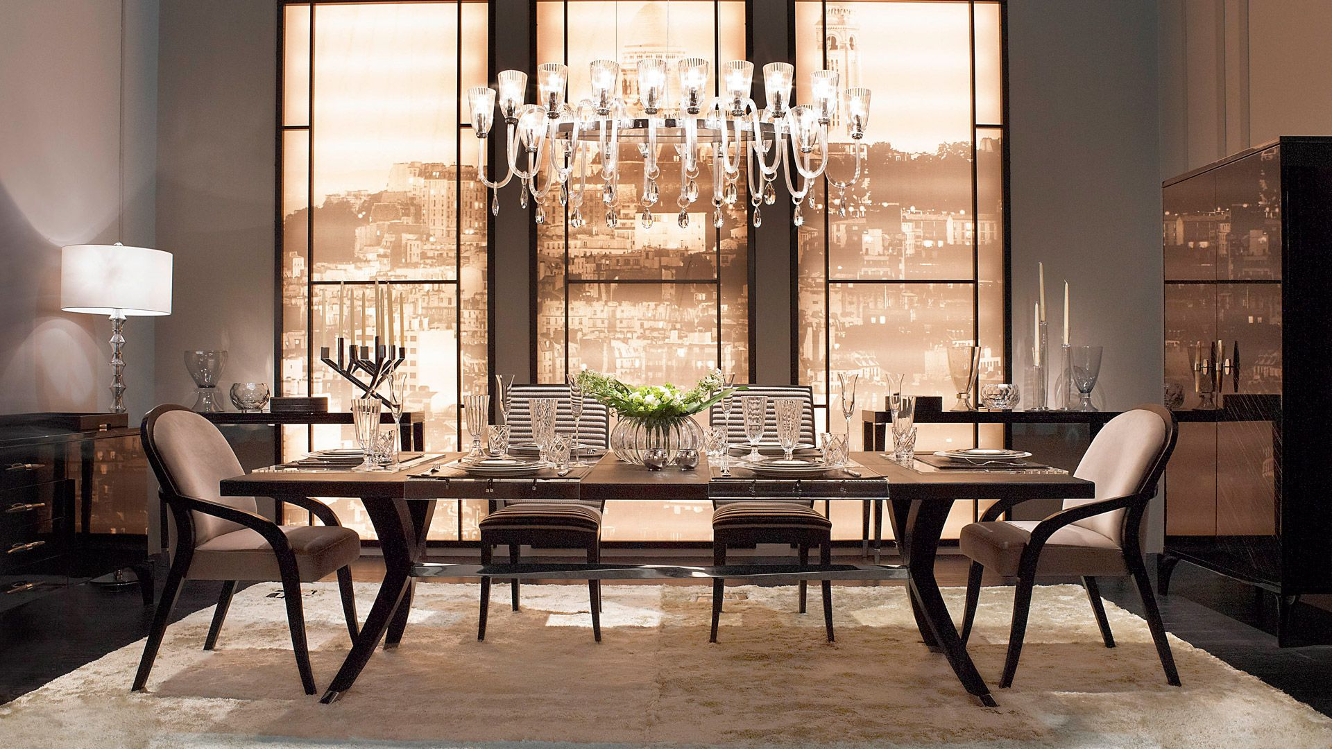 Beautiful Dining Rooms From Fendicasa Fendi Diningroom Kasiasworldofrealestate