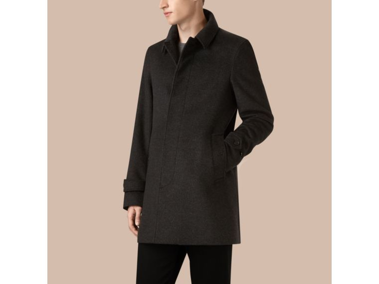 BURBERRY VIRGIN WOOL CASHMERE CAR COAT. #burberry #cloth ...