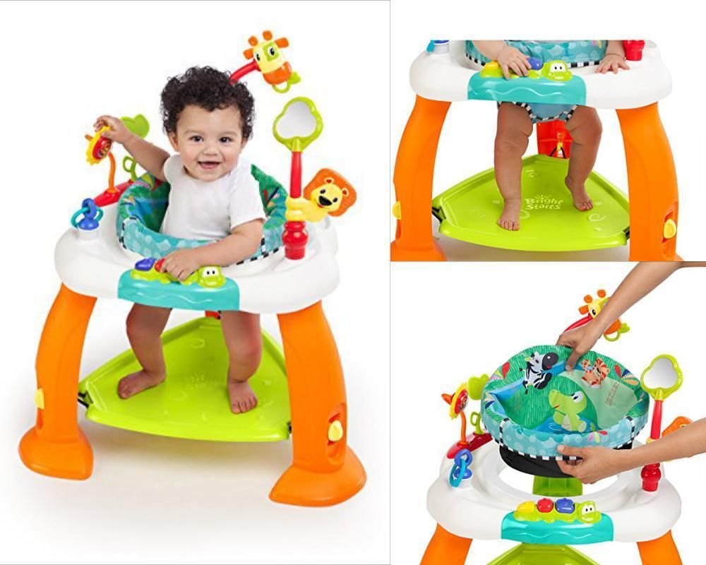 dc9899dc9 Details about Baby Exercise Bouncer Kid Learning Jumper Activity ...