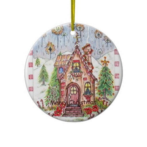 Silent Night Christmas ornament can be purchased on zazzle.com/mysgardensanctuary