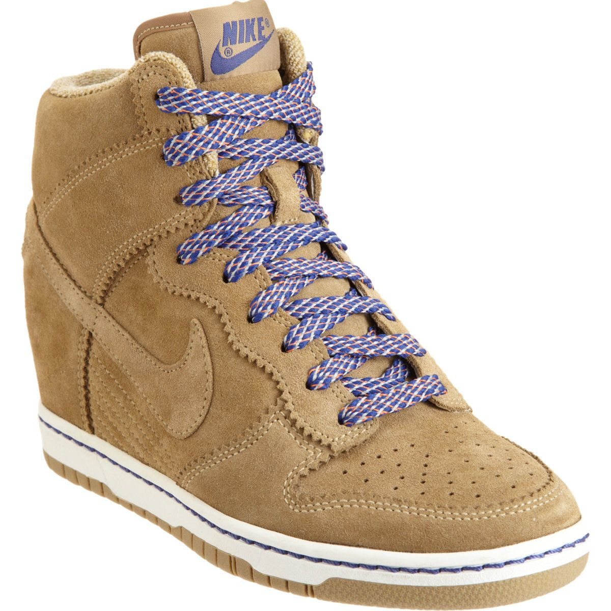 Nike Dunk Sky High Wedge in Brown (multicolor)