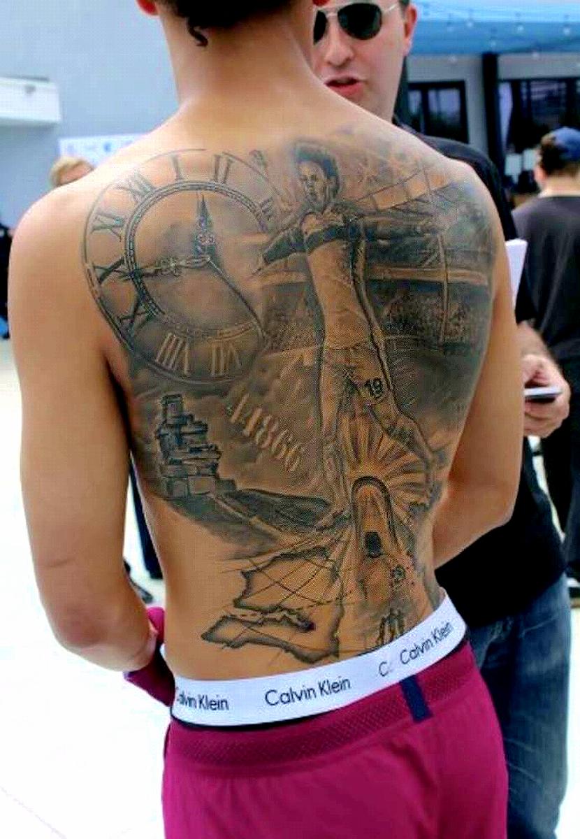 Sane Tattoo : tattoo, Leroy, Tattoo, Celebration, Personajes, Dragon, Ball,