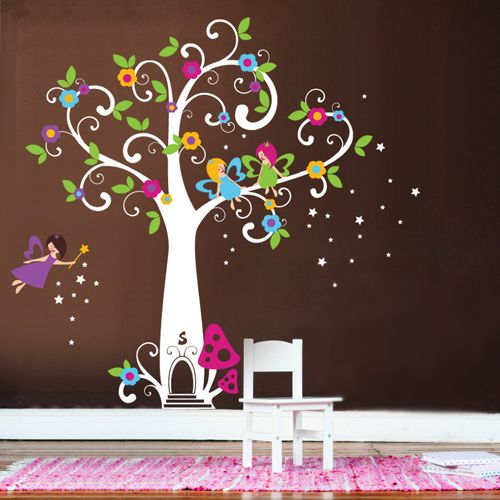 Giveaway Tree Wall Decal | Project Nursery & Giveaway: Tree Wall Decal | Flowering trees Project nursery and ...