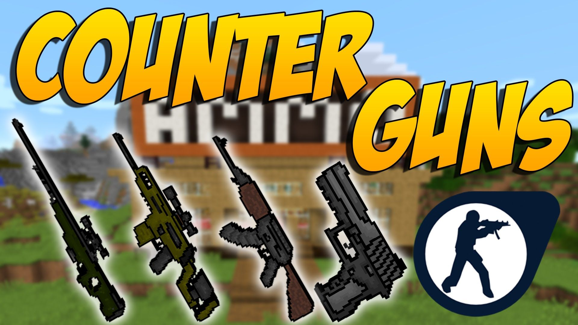 Counter Guns Mod De Armas Del Counter Strike Minecraft Mod 1 10 2 Armas