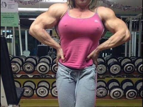 Massive Biceps Female Bodybuilder Fbb Youtube