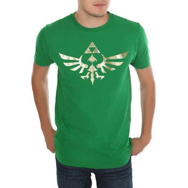 Nintendo The Legend Of Zelda Gold Triforce T-Shirt Hot Topic (48 CAD)