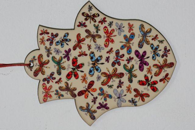 U-Boutique Shops | Butterflies Chamsa | works